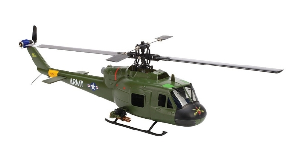 SR UH-1 Huey Gunship RTF Helicopter