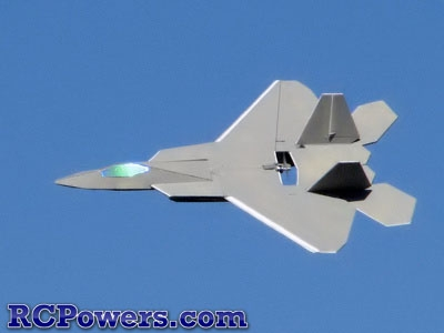 RC Powers Designed Laser Cut F22-V2 Kit - Intermediate