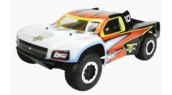 TEN-SCTE 4WD Short Course Rolling Chassis