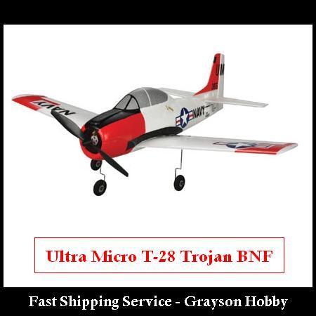 Ultra Micro T-28 Trojan BNF