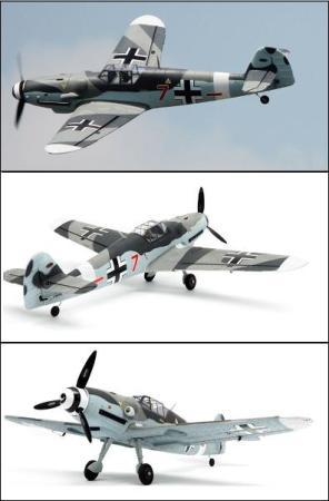 Dynam Messerschmitt BF109 - PNP