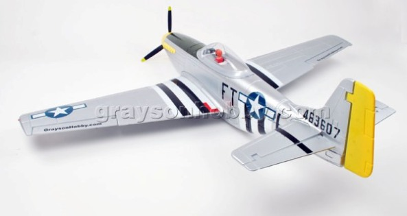 Dynam P51D Mustang w Retracts (PNP)