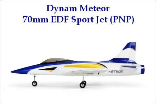 Dynam Meteor 70mm EDF Sport Jet (PNP)
